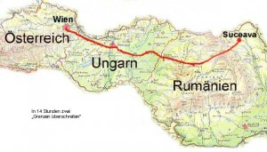Wien-Rumänien in 14 Stunden